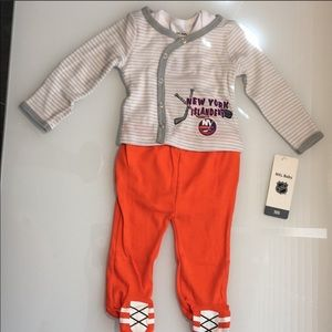 NHL BABY  NY Islanders 3 Piece Outfit (0-3M/NB)